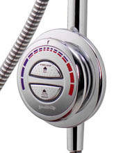 Digital Shower Push Button Control