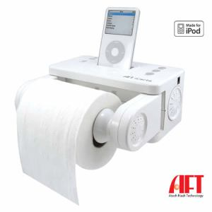 iPod toilet roll