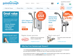 Gainsborough Website